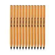 BIC Classic Ballpoint Pen Fine 0.7mm Black Box 12