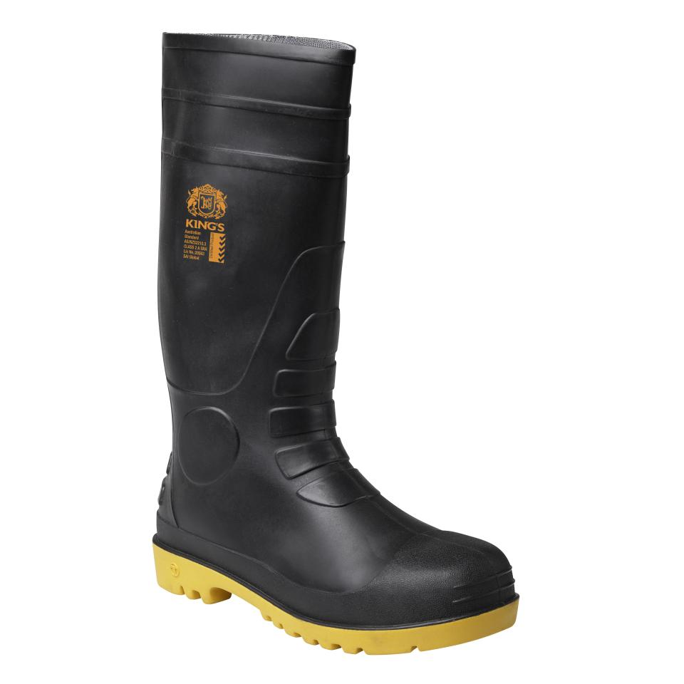Oliver 10-100 Safety Gumboot Black