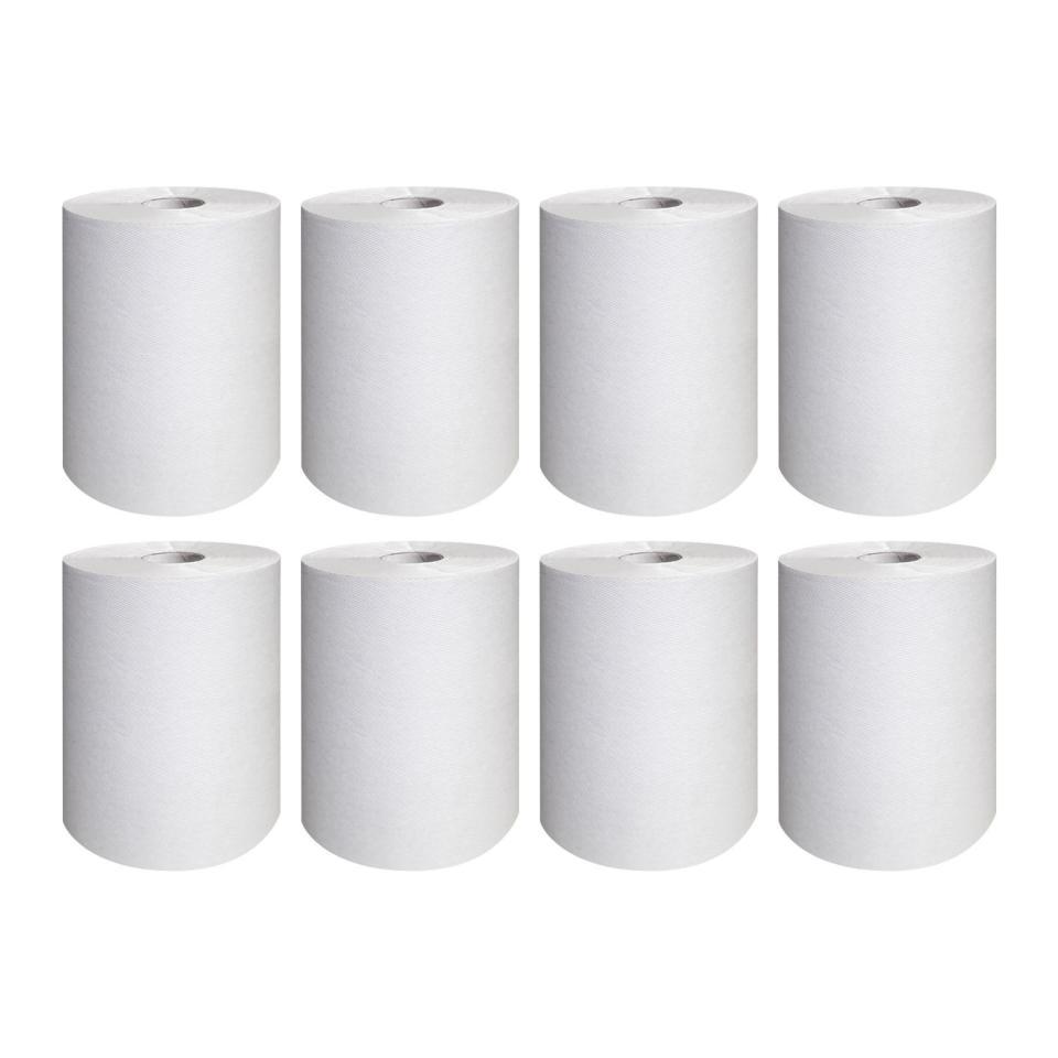 Scott 44199 Long Roll Hand Towel White 140 m Roll Case of 8 Rolls