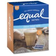Equal Sweetener Single Serve Sachets Pack 100