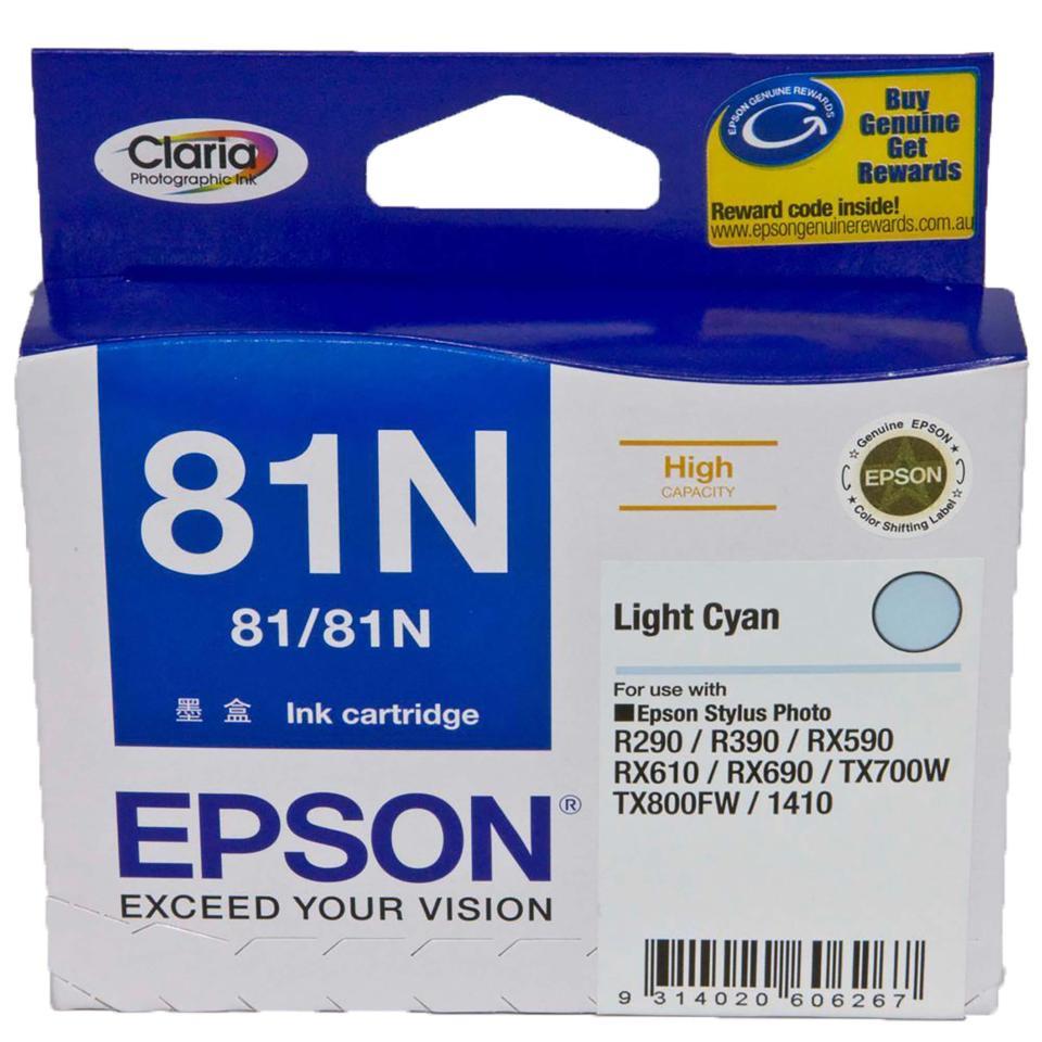 Epson 81N C13T111592 Ink Cartridge Light Cyan
