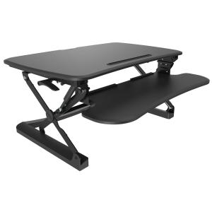 Sylex Arise Medium Deskalator Sit Stand Unit Black