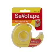 Sellotape Sticky Tape with Dispenser 18mm x 25m