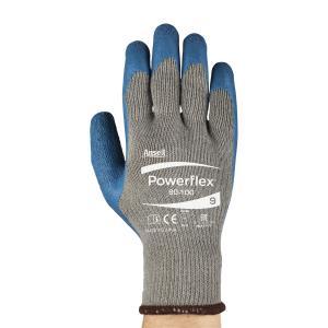 Ansell 80-100-9 Ansell Powerflex Glove Size 9 Pack 12