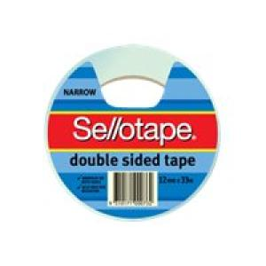 Sellotape 404 Double Sided Tape 12mm X 33m Roll Image