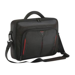 Targus Classic 14.1-inch Clamshell Case - Black/Red