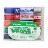 Pilot Begreen V Board Marker Refillable Assorted Colours Set 5