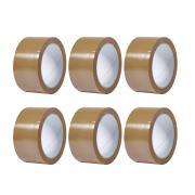 Winc Packaging Tape Acrylic 48mmx75m Brown Pack 6 Rolls