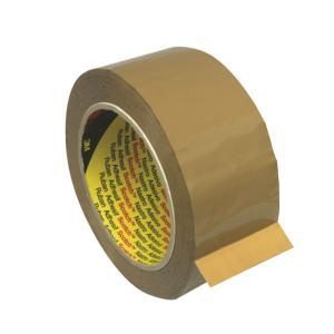 3M 370 Scotch 48mmx75m Packaging Tape Polypropylene Brown
