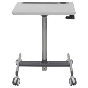Ergotron LearnFit SE Sit Stand Medium Mobile Desk Grey