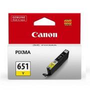 Canon PIXMA CLI-651Y Yellow Ink Cartridge