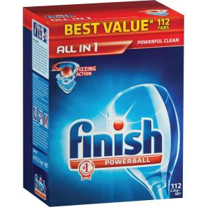 Finish All-In-One Tablets Regular 112s