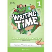 Writing Time 1 (Victorian Modern Cursive) Student Practice Book