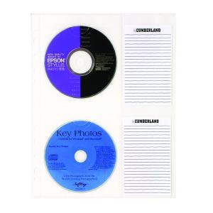 Cumberland CD Sleeve A4 Clear Pack 10