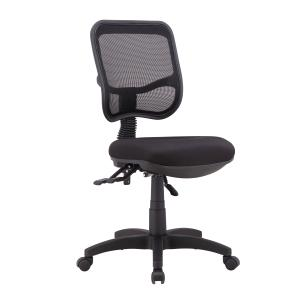 Viva Mesh Medium Back Task Chair Black
