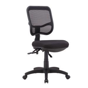 Winc Ambition Viva 2.0 Mesh Mid Back 3 Lever Task Chair Black
