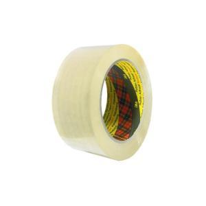3M 370 Scotch 48mmx75m Packaging Tape Polypropylene Clear Image