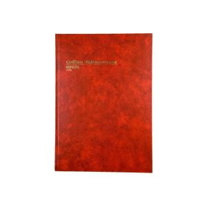 Collins 10905 Account Book 168 Page Hard Cover A4 Minute