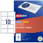 Avery Matte Finish Business cards - 90 x 52mm - 1000 cards - 150g/m2 (L7415)