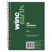 Winc Earth Spiral Notebook A6 Ruled 96 Page