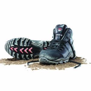 Mack Boots Zero Lace Up Waterproof Cowhide Boot Black