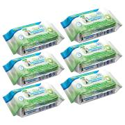Nano Antibacterial Surface Wipes Pack 80 Value 6 Pack