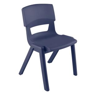 Sebel Postura Max 6 Classroom Chair 460mm Slate