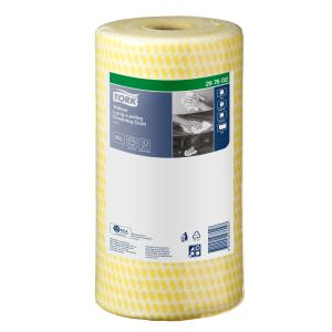 Tork Premium Specialist Cloth Yellow Heavy Duty 50X30cm 90/Roll