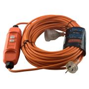 Cleanstar IEC Extension Lead With RCD 20m