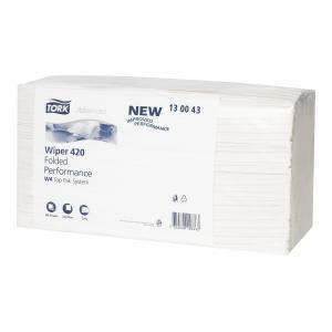 Tork 130043 Wiping Paper Plus Folded W4 200 Sheets Carton 5