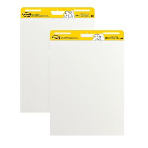 Post-It Super Sticky Easel Pad White 635 x 762mm Pack 2