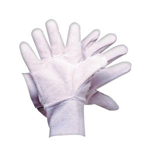 Safechoice Gloves Chrome Leather White Pair 12 Pack