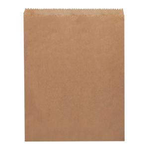 Castaway Paper Bags No 2 Flat Long Cake 165X235mm Brown Carton 500