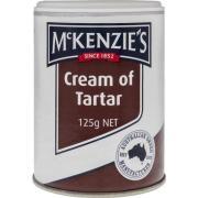 Mckenzie Cream Of Tartar 125g Pack