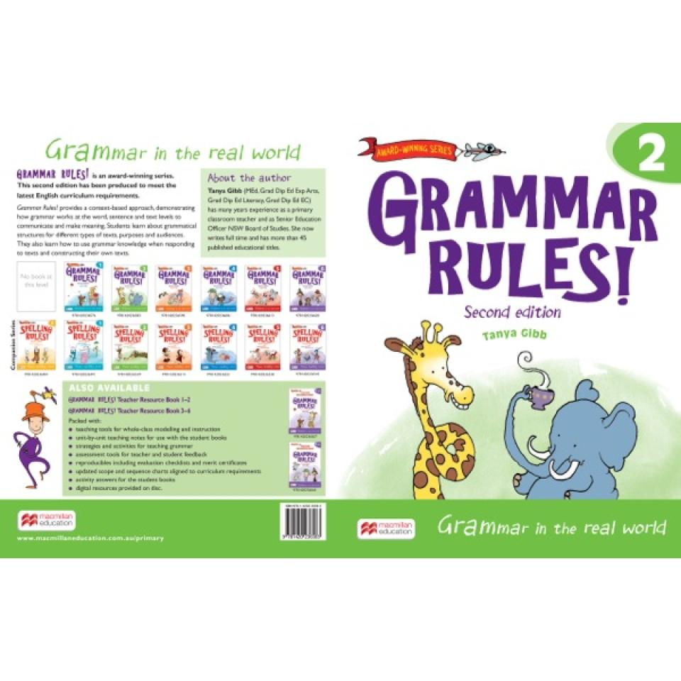 Grammar Rules Student Year 2 2nd Edition. Author