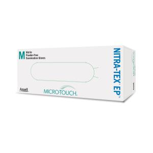 Ansell MICRO TOUCH NitraTex EP Gloves Blue Box 100