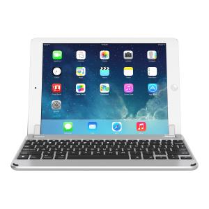 Brydge 9.7 Bluetooth Keyboard for iPad Pro 9.7-inch / iPad (2017) / iPad Air 1/2 - Silver