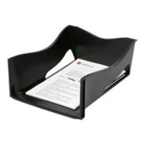 Marbig Enviro Jumbo Document Tray A4 Black Image
