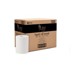 Livi Essential Paper Towel Roll 178mmx100m Carton 16