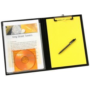 Marbig Professional Series Clipfolder A4 Expanding Pocket Black