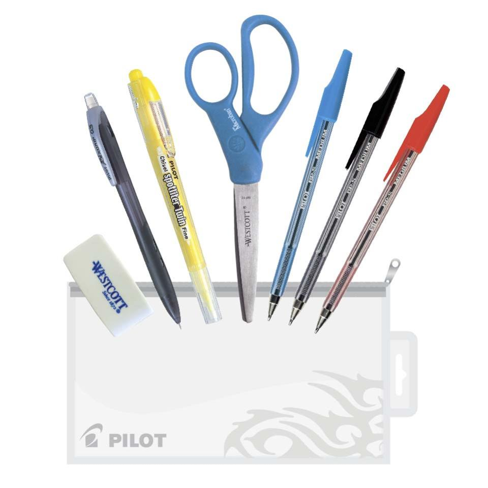 Pilot Student Kit Assorted Colour Multi-Pack Box 8