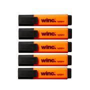 Winc Highlighter Chisel Tip 2.0-5.0mm Orange Box 5