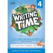 Writing Time 4 (NSW Foundation Style) Student Practice Book