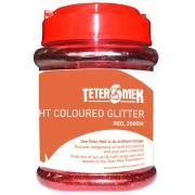 Teter Mek Bright Coloured Glitter 250g Red