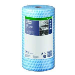 Tork Premium Specialist Cloth Blue Heavy Duty 50X30cm Carton Of 4 Rolls