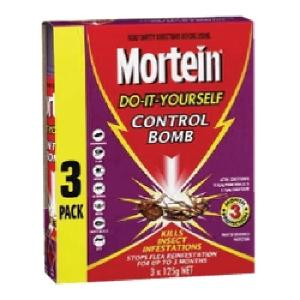 Mortein Control Bomb 3 Pack 3X125g