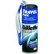 Gillette Series Mini Gel And Gillette Sensor 3 Disposable Razor Pack