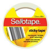 Sellotape Sticky Tape 12mm X 66m