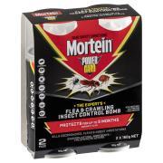 Mortein Powergard Flea & Crawling Insect Control Bomb 2 X 150g