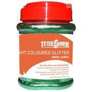 Teter Mek Bright Coloured Glitter 250g Green